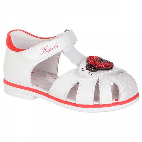 Фото - Сандалии Kapika размер 24, белый сандалии repo j1267 белый