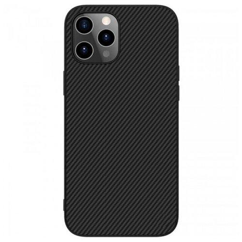 Nillkin Synthetic Fiber Чехол с карбоновой текстурой для iPhone 12 Pro Max чехол для iphone 7 plus nillkin synthetic fiber черный