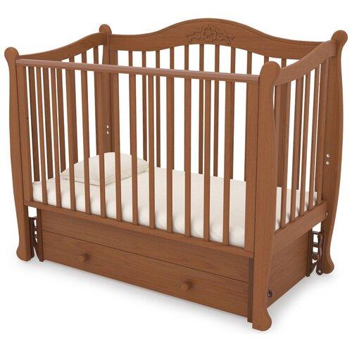 Кровать детская GANDYLYAN К-2002-20м Моника маятник универсальный (вишня) gandylyan кроватка gandylyan дашенька маятник универсальный орех