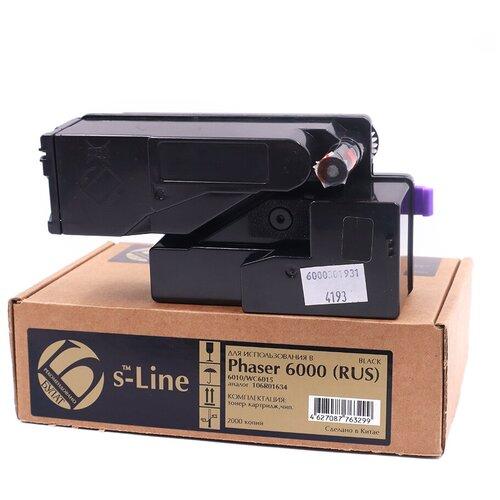 Фото - Тонер-картридж булат s-Line 106R01634 (RUS) для Xerox Phaser 6000, WC 6015 (Чёрный, 2000 стр.) смеситель для ванны bravat waterfall f673114c 01a rus