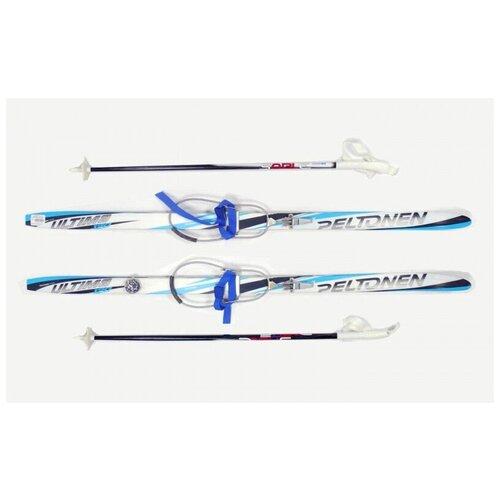 Беговые лыжи комплект Peltonen ultima step кабельное крепление (14/15) (размер 120, цвет Бело-синий)