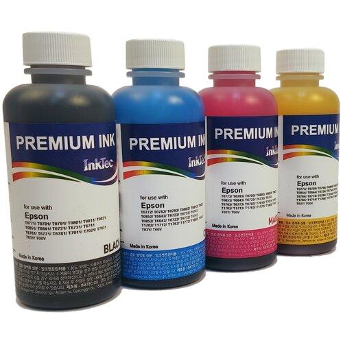 Фото - Чернила InkTec E0010 для Epson L100, L110, L120, L1300, L132, L200, L210, L222, L300, L312, L350, L355, L362, L364, L366, L382, L386, L456, L486, L550, L555, L566, L3050, L3060, L3070 100x4 чернила краска для заправки принтера epson l3050 набор мини