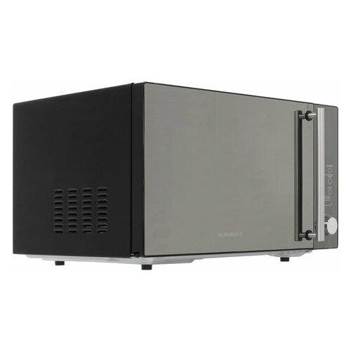 Микроволновая печь HORIZONT 25MW900-1479DKB, объем 25 л, мощность 900 Вт, электронное управление, гриль, черная, 1 шт.