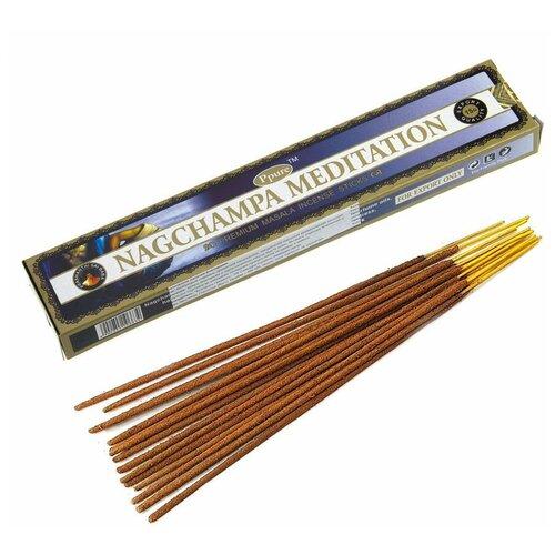 Благовония Ppure Медитация (Nagchampa Meditation), аромапалочки