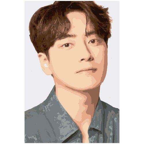 Картина по номерам Ли Чжун Хёк, 40 х 60 см