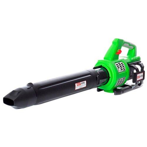 Воздуходувка аккумуляторная бесщеточная RedVerg RD-B36V/BL (без акк, без з/у) воздуходувка пылесос redverg rd b18v от аккум зеленый черный