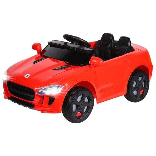 Купить Электромобиль TM CITY-RIDE, машина детская на аккумуляторе с пультом управления, машинка детская для малышей на радиоуправлении, для детей, для катания. 6V4AH*2, мягкие колеса EVA, свет, звук, мр3, цвет красный. Размер машины: 106*56*50см, Электромобили