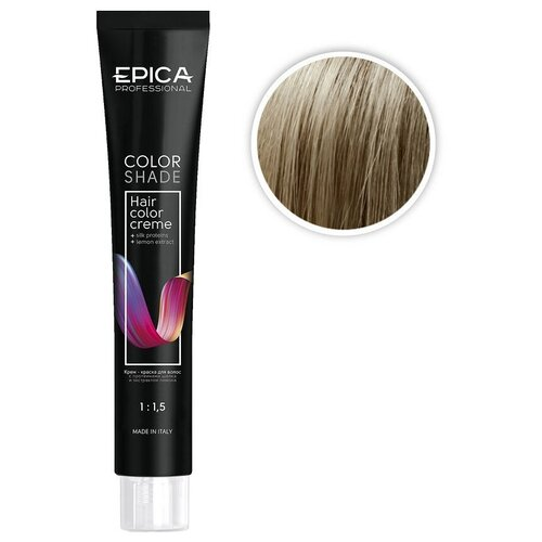 EPICA Professional Color Shade крем-краска для волос, 9.1 блондин пепельный, 100 мл  - Купить