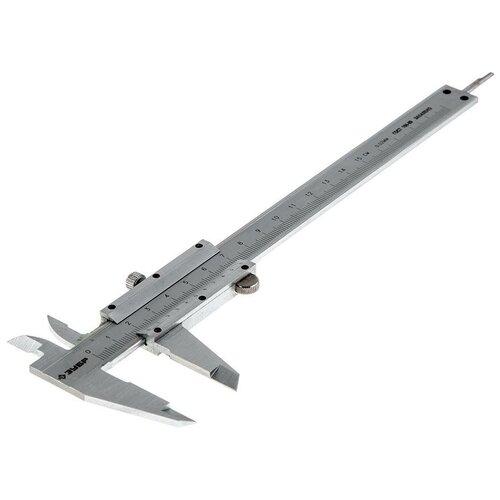 Нониусный штангенциркуль ЗУБР Эксперт 34511-150 150 мм, 0.02 мм нониусный штангенциркуль рос