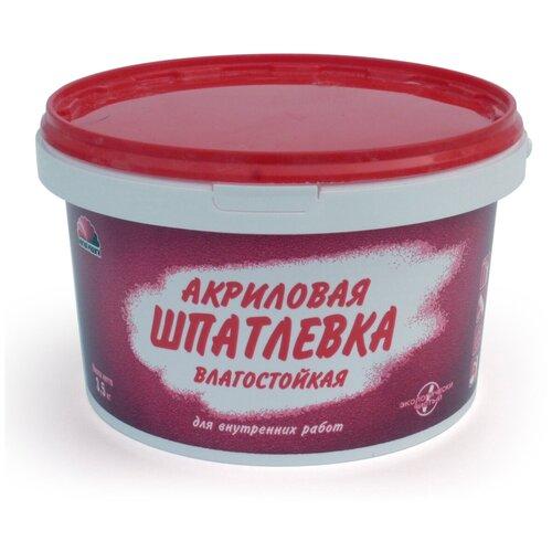 Шпаклевка акриловая влагостойкая 3,5 КГ (1)