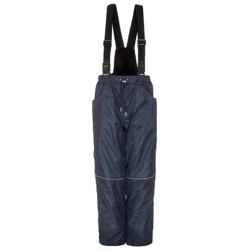 Купить Брюки M&D БС015Ф09 размер 122, синий, Полукомбинезоны и брюки