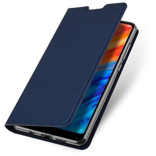 Чехол книжка для Xiaomi Mi Poco M3 Pro (5G / 4G) / Redmi Note 10 5G Dux Ducis, синий