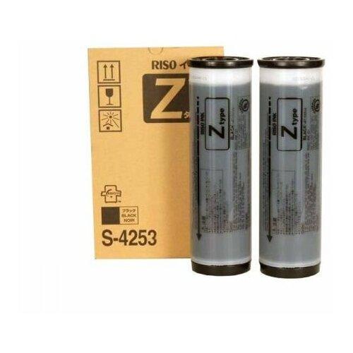 Фото - Краска для RISO RZ/EZ 370/300/230/200 Black (1000мл) S-4253E (Katun) барабан ez чистый s 4890 а4 для ez 200