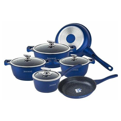 Набор кастрюль и сковород Royalty Line 10 предметов