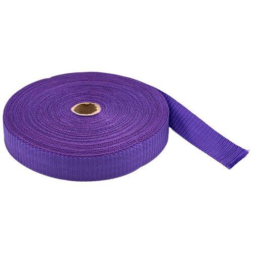 Купить С3075Г17 Стропа-30 рис.8358 30мм*25м, 15, 8 г/м (19 фиолетовый) 25 м, Красная лента, Технические ленты и тесьма