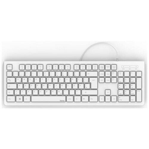 Клавиатура HAMA KC-200 White (R1182680)