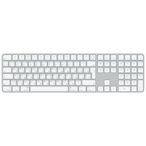 Клавиатура Apple Magic Keyboard with Touch ID and Numeric Keypad (MK2C3RS/A)