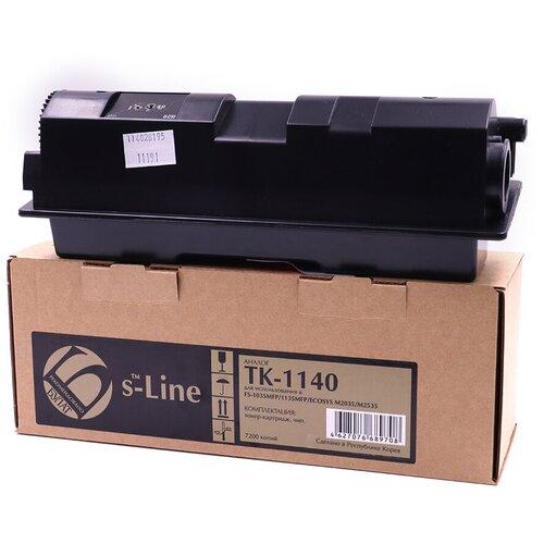 Фото - Тонер-картридж булат s-Line TK-1140 для Kyocera FS-1035MFP (Чёрный, 7200 стр.) тонер картридж булат s line tk 475 для kyocera fs 6025mfp чёрный 15000 стр