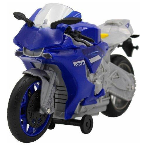 трансформер трейлер dickie optimusprime свет звук Мотоцикл Dickie Yamaha R1, 26 см, свет, звук 3764015