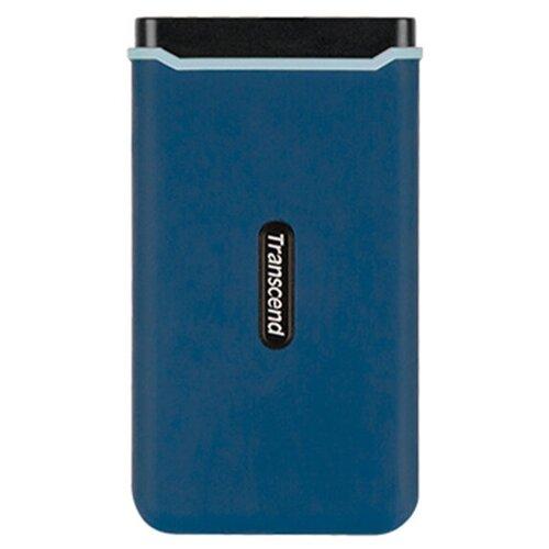 Фото - Твердотельный накопитель Transcend ESD370C 1Tb Blue TS1TESD370C твердотельный накопитель gigabyte vision drive 1tb gp vsd1tb