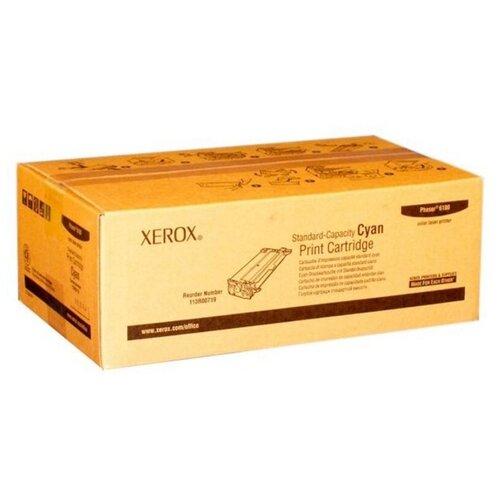 Фото - Лазерный картридж XEROX 113R00719 Cyan картридж лазерный xerox 106r03748 голубой