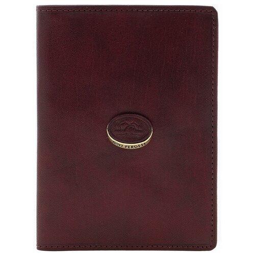 Обложка для паспорта Tony Perotti Topkapi gioil, женская, натуральная кожа, бордовый