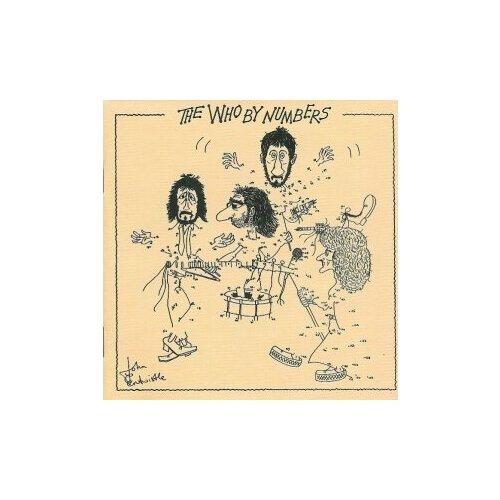 Компакт-диски, Polydor, THE WHO - By Numbers (CD) who who the who by numbers