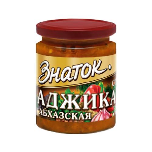 Аджика Абхазская Знаток -0,170 кг) стекло