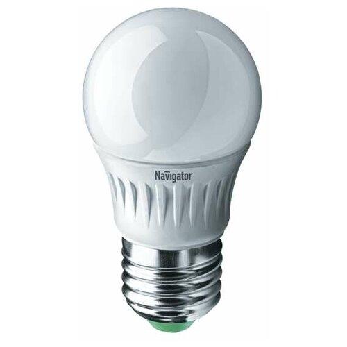 Лампа светодиодная 94 469 NLL-G45-7-230-4K-E27 7Вт шар 4000К бел. E27 560лм 176-264В Navigator 94469 (упаковка 10 шт)