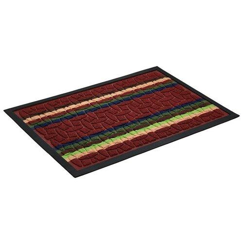 Коврик придверный, VORTEX, & quot;COMFORT& quot;, 40х60см, красный коврик vortex придверный comfort d 65см круглый