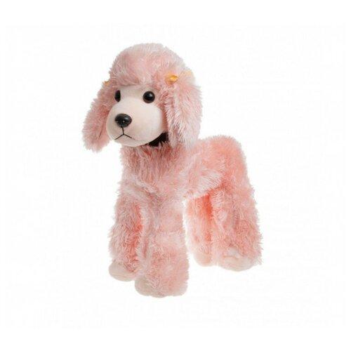 Мягкая игрушка Tomato Собака Пудель, розовая 37 см