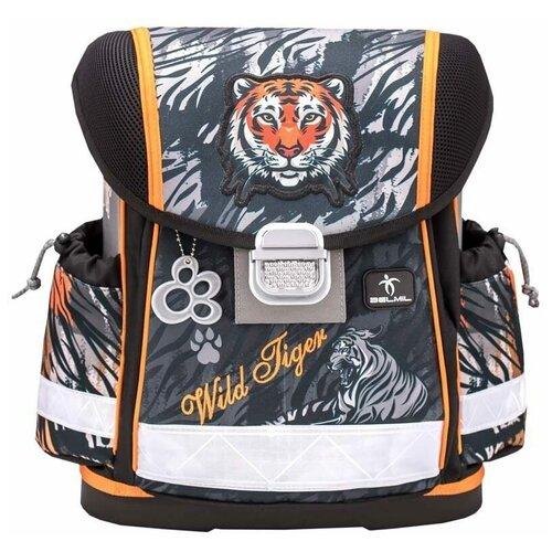 Купить Ранец Belmil Classy Wild Tiger, 36х32х19 см, Рюкзаки, ранцы
