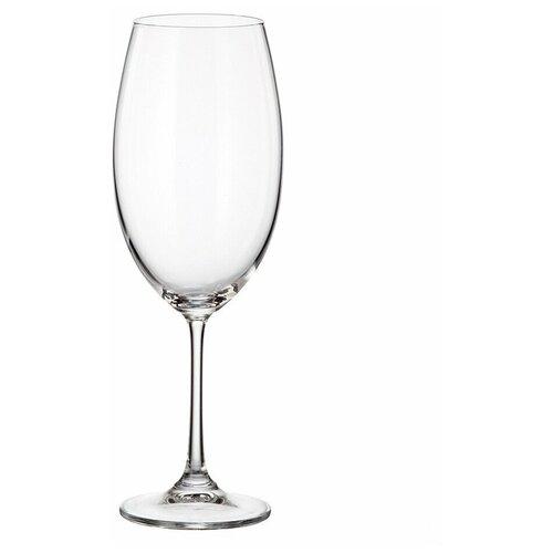 Фото - Набор бокалов для вина Crystalite Bohemia Milvus/Barbara 510мл (6 шт) набор бокалов первый мебельный набор бокалов для вина crystalite bohemia ardea amundsen 450мл 6 шт
