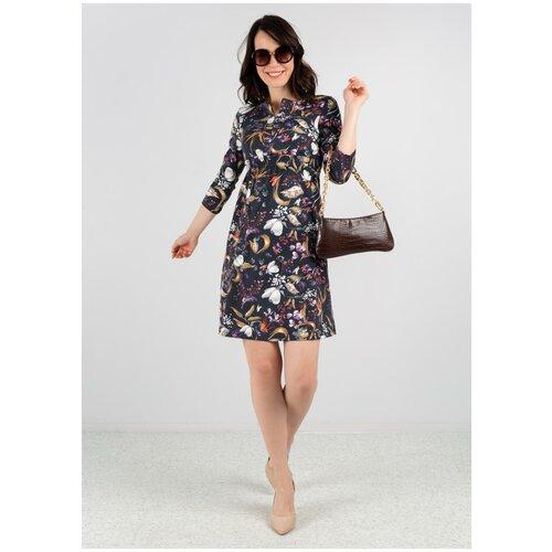 Платье I Love Mum Алиша, размер 46 / Lсиний
