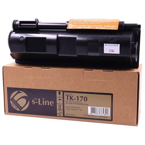 Фото - Тонер-картридж булат s-Line TK-170 для Kyocera FS-1320d (Чёрный, 7200 стр.) тонер картридж булат s line tk 475 для kyocera fs 6025mfp чёрный 15000 стр