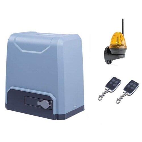 Автоматика для откатных ворот R-Tech SL1500KCEKIT-LK, комплект: привод, 2 пульта, лампа