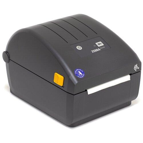 Термотрансферный принтер этикеток ZEBRA ZD220 черный