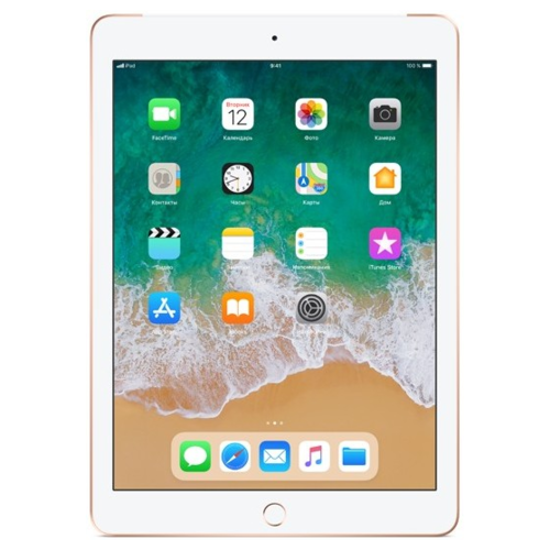 Планшет Apple iPad (2018) 32Gb Wi-Fi, Gold