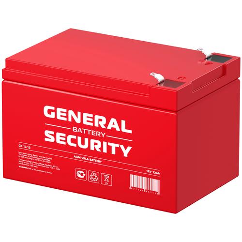 General Security Аккумулятор General Security GS 12-12