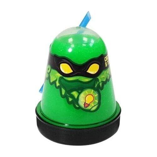 Лизун Slime Ninja (Зелёный, светится в темноте)