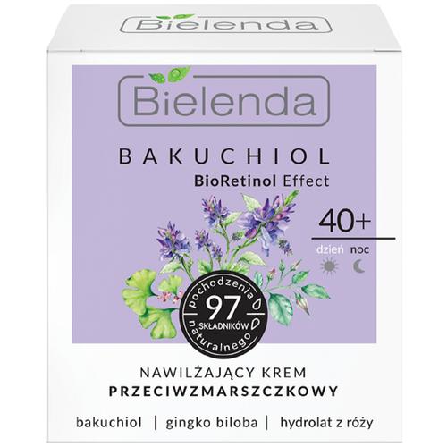 BIELENDA BAKUCHIOL BioRetinol Effect увлажняющий крем против морщин для лица 40+ 50мл