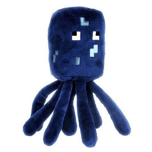 Детская мягкая игрушка Все игрушки / Плюшевый Осьминог Squid из игры Майнкрафт (Minecraft) для детей, мальчиков и девочек