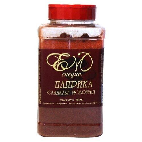 Паприка сладкая молотая ЕМ специи, пл/бан. 500 гр.