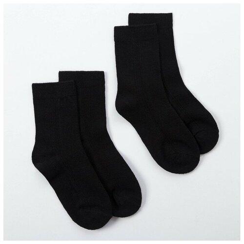 Купить Носки Minaku комплект 2 пары размер 22-24 см (35-38), черный