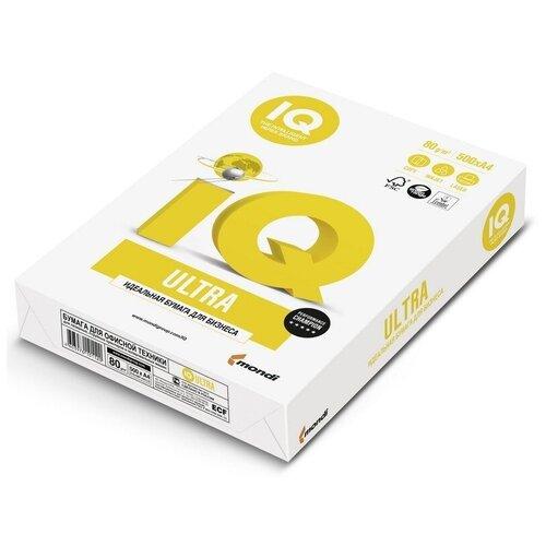 Фото - Бумага IQ Ultra, А4, марка А, 80 г/м2, 500 листов бумага iq allround а4 марка в 80 г м2 500 листов