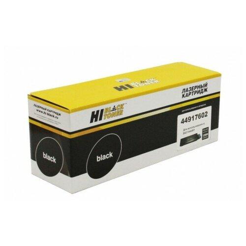 Тонер-картридж Hi-Black (HB-44917602) для OKI B431/MB491/MB461/MB471, 12K