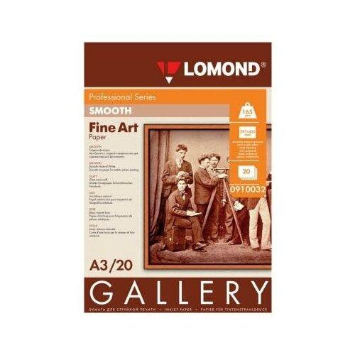 Фото - LOMOND Фотобумага LOMOND АРТ Smooth гладкая матовая одностор. 165г/м2 А3 20л lomond 2020345