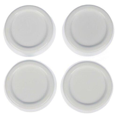 Libra Plast Набор подставок антивибрационных, 4 шт, цвет белый