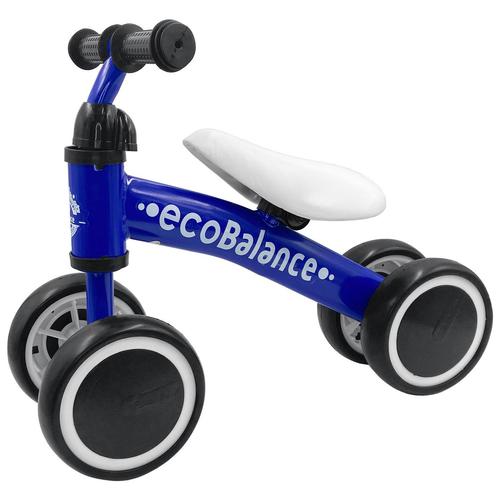 Беговел ecoBalance Baby, синий