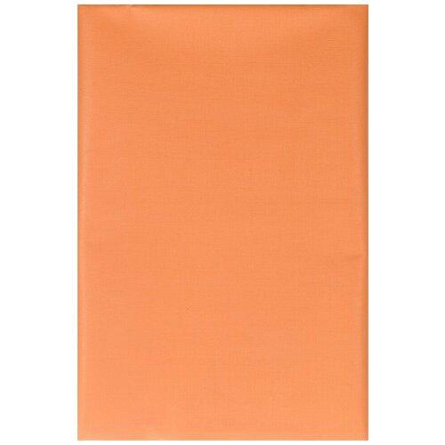Наматрасник клеенка подкладная с ПВХ покрытием для кроватки , коляски без окантовки 70х100 см оранжевый